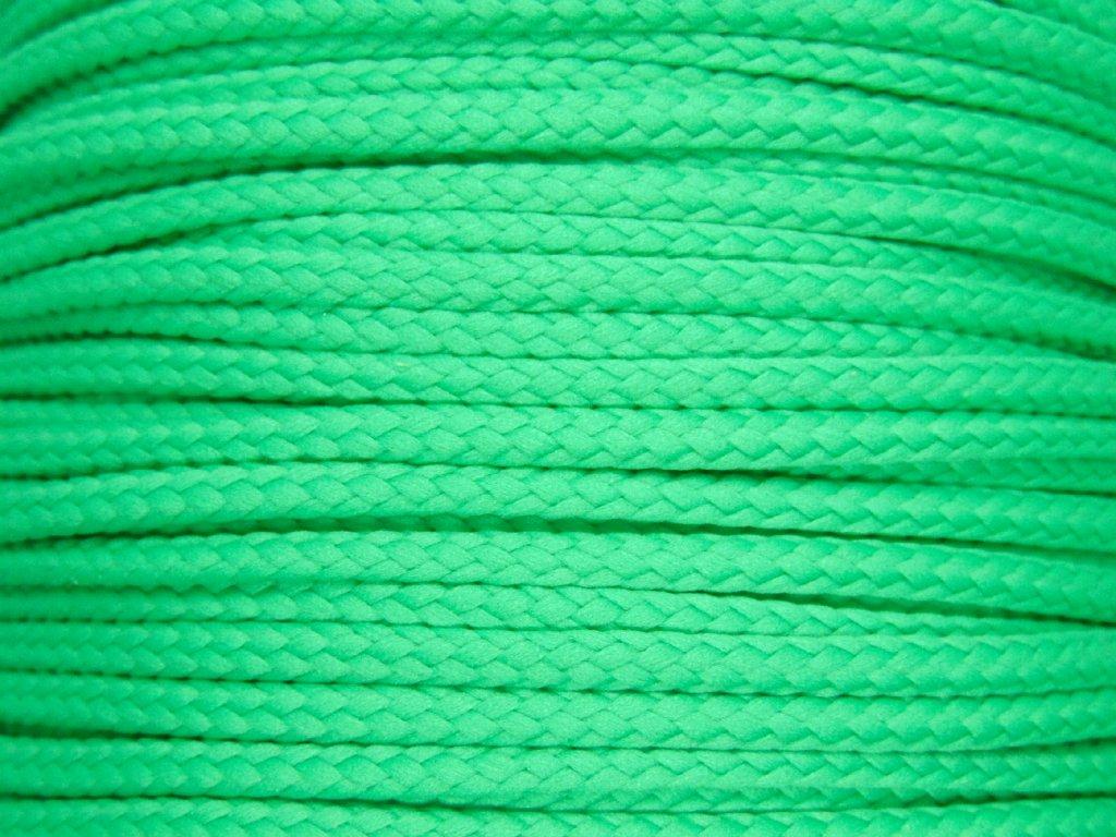 Polyesterová šňůra YarnMellow Loopy Klasická zelená