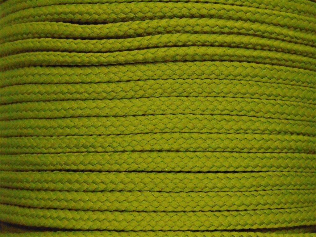 Polyesterová šňůra YarnMellow Loopy Šalvěj
