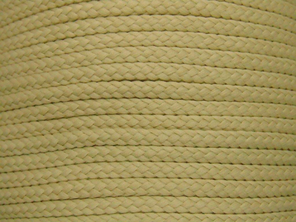 Polyesterová šňůra YarnMellow Loopy Konopí