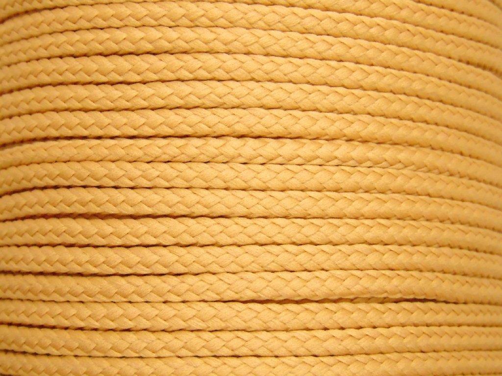 Polyesterová šňůra YarnMellow Loopy Latte