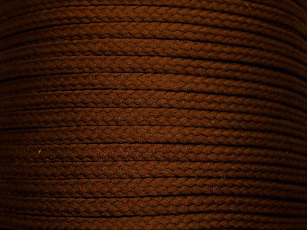 Polyesterová šňůra YarnMellow Loopy Rašelina