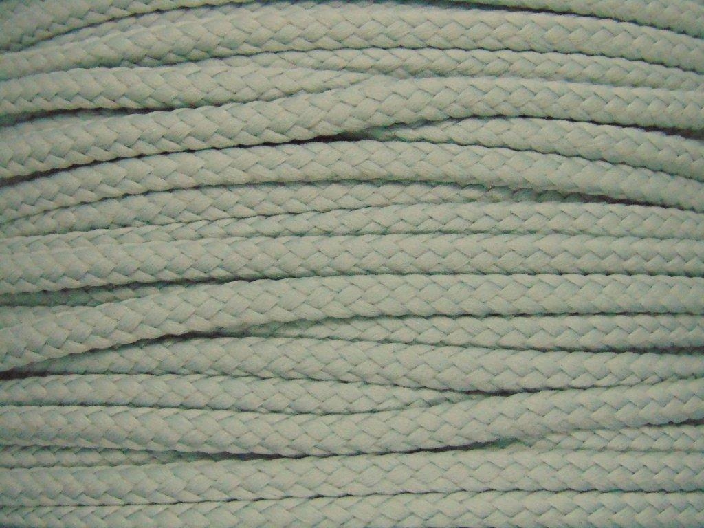 Polyesterová šňůra YarnMellow Loopy Stříbrná