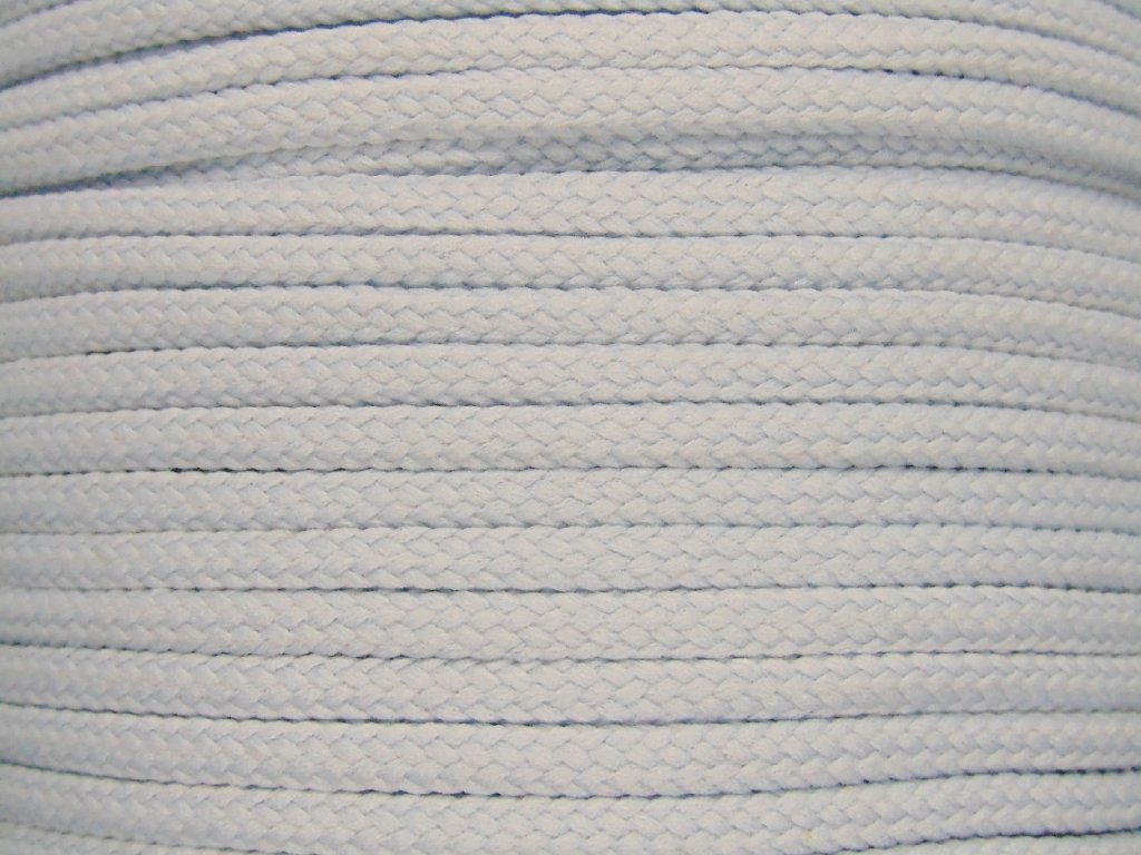 Polyesterová šňůra YarnMellow Loopy Modrošedá