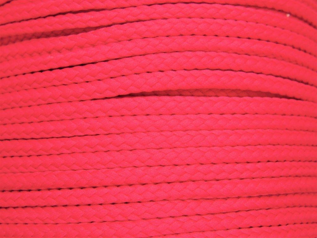 Polyesterová šňůra YarnMellow Loopy Cyklámen