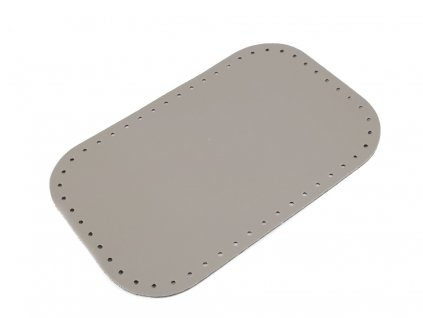 Koženkové dno tašky 18x28 cm šedé