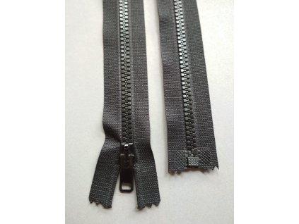 Zip 25 cm černý