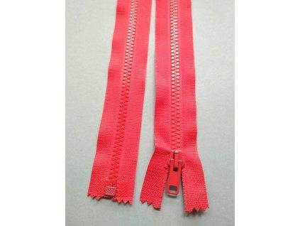 Zip 30 cm červený