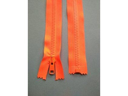 Zip 60 cm reflexní oranžový