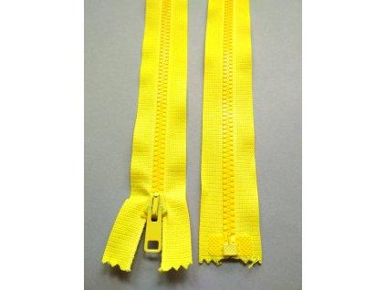 Zip 60 cm zářivě žlutý