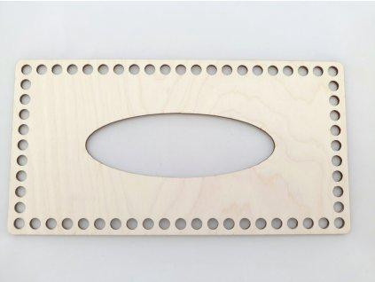 Dřevěný výřez na kapesníky