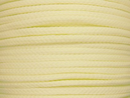 Polyesterová šňůra YarnMellow Loopy Světle žlutá