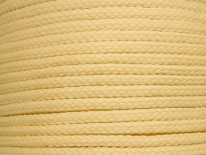 Polyesterová šňůra YarnMellow Loopy Slámová