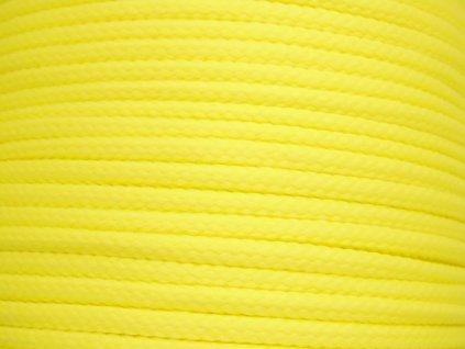 Polyesterová šňůra YarnMellow Loopy Prvosenková