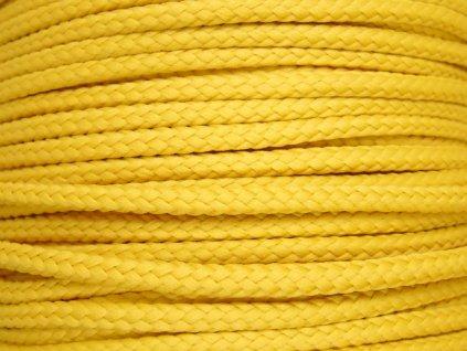 Polyesterová šňůra YarnMellow Loopy Obilná