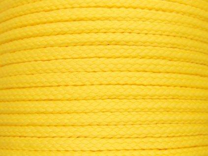 Polyesterová šňůra YarnMellow Loopy Kukuřice