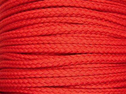 Polyesterová šňůra YarnMellow Loopy Kardinálská