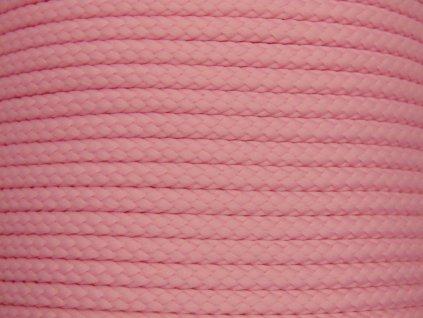 Polyesterová šňůra YarnMellow Loopy Dětská růžová