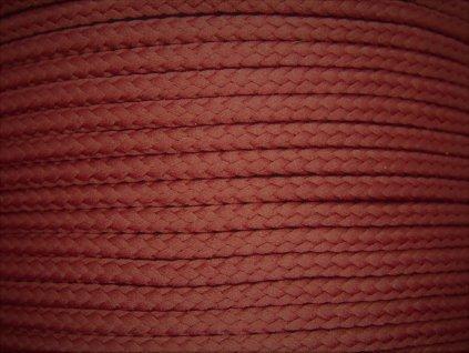 Polyesterová šňůra YarnMellow Loopy Rubín