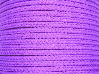Polyesterová šňůra YarnMellow Loopy Levandule
