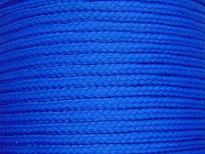 Polyesterová šňůra YarnMellow Loopy Královská modř