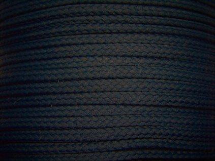 Polyesterová šňůra YarnMellow Loopy Denim tmavý