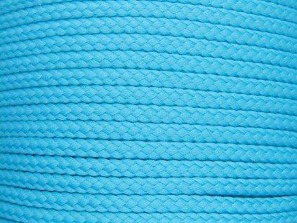 Polyesterová šňůra YarnMellow Loopy Jasně modrá