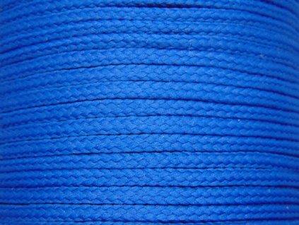 Polyesterová šňůra YarnMellow Loopy Klasická modrá