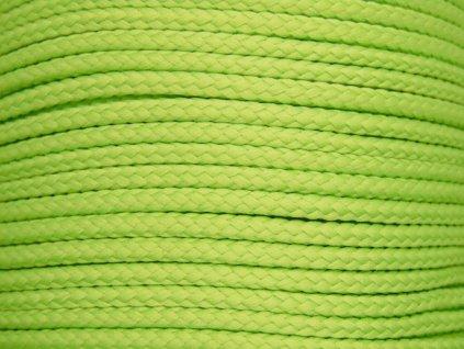 Polyesterová šňůra YarnMellow Loopy Hrášková