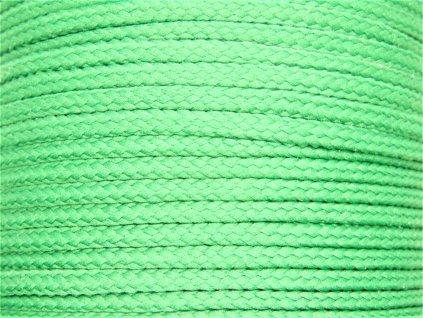 Polyesterová šňůra YarnMellow Loopy Tyrkysová zelená