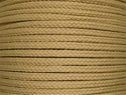 Polyesterová šňůra YarnMellow Loopy Dubová
