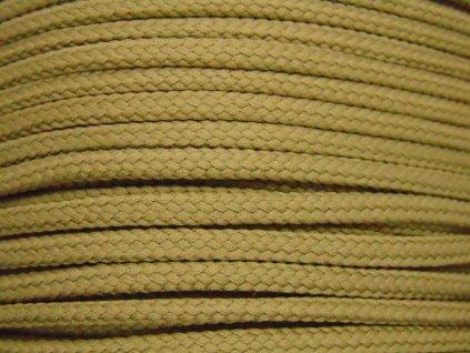 Polyesterová šňůra YarnMellow Loopy Drapová