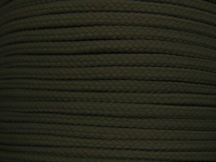 Polyesterová šňůra YarnMellow Loopy Olověná