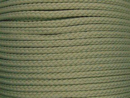 Polyesterová šňůra YarnMellow Loopy Světle šedá