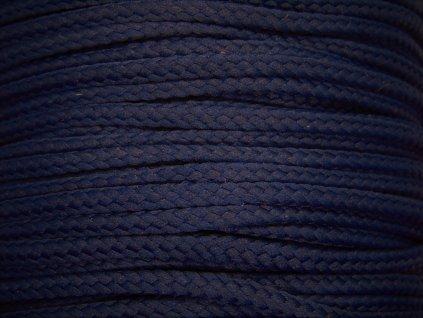 Polyesterová šňůra YarnMellow Loopy Námořnická