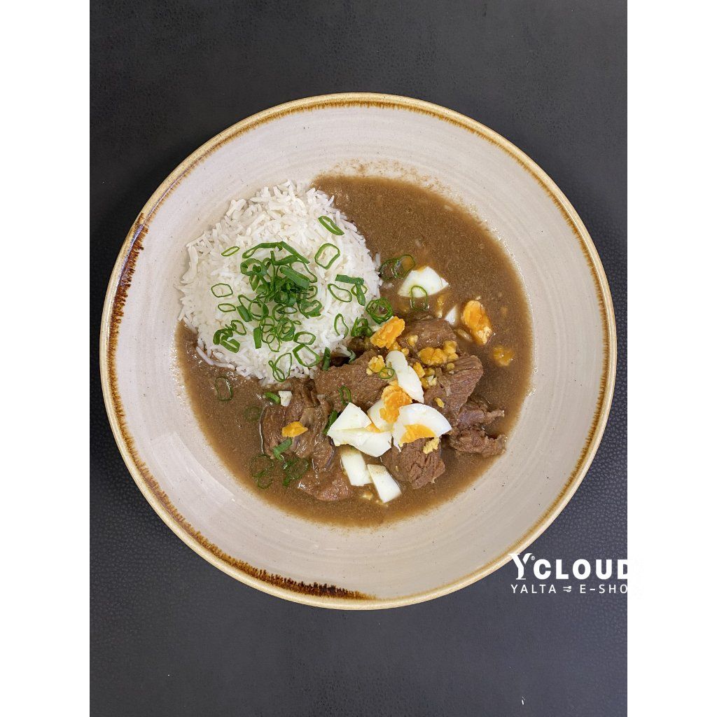 1 - Štěpánská hovězí pečeně s rýží