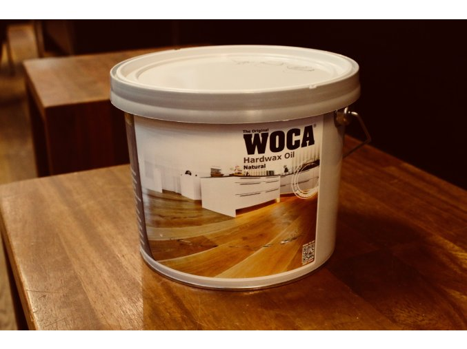Woca Olej s voskem přírodní 2,5l