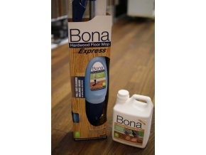 Bona Spray Mop Express pro dřevěnou olejovanou podlahu + 2,5l čističe ZDARMA