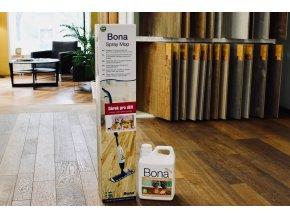 Bona Spray Mop pro dřevěnou olejovanou podlahu + 2,5l čistič olejových podlah
