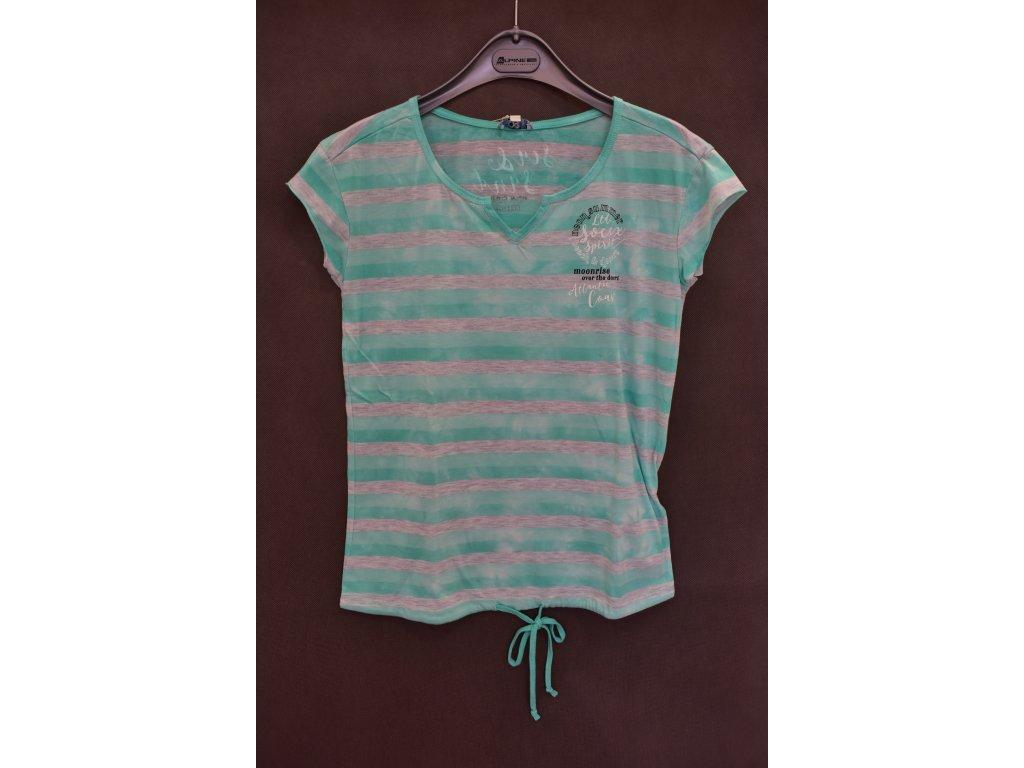 Tričko Soccx Neon Summer Green