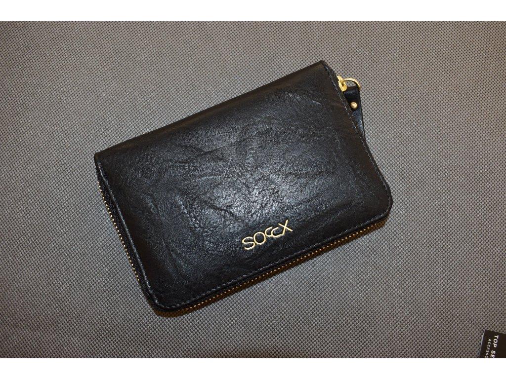 Peněženka Soccx Black