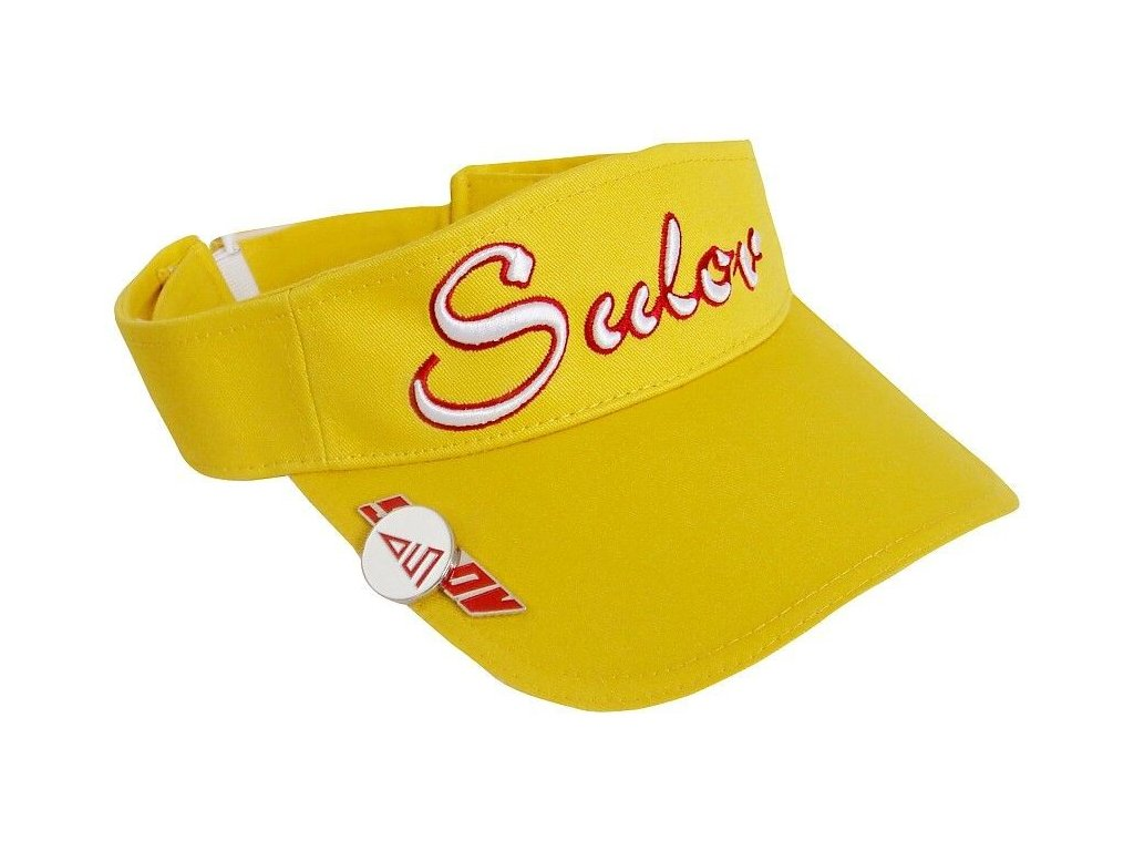 Kšilt Golf SULOV, dámský žlutý