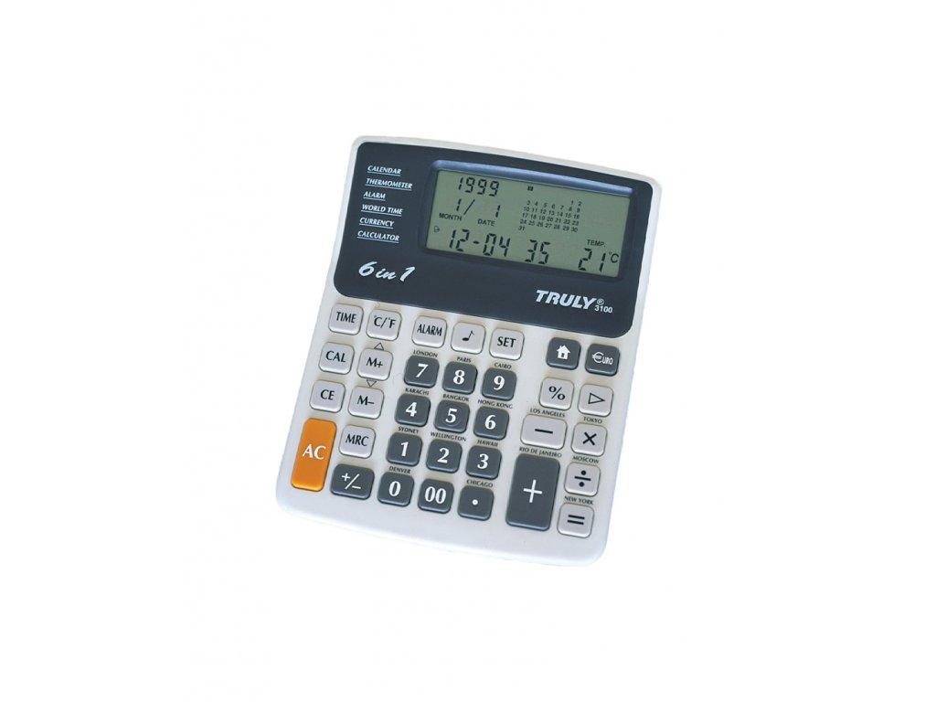 Kalkulačka Truly 3100, stolní