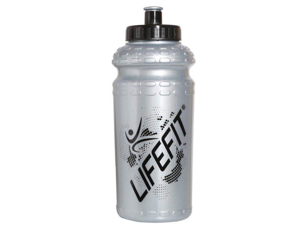Cyklo láhev LIFEFIT 9992, 600ml, šedá