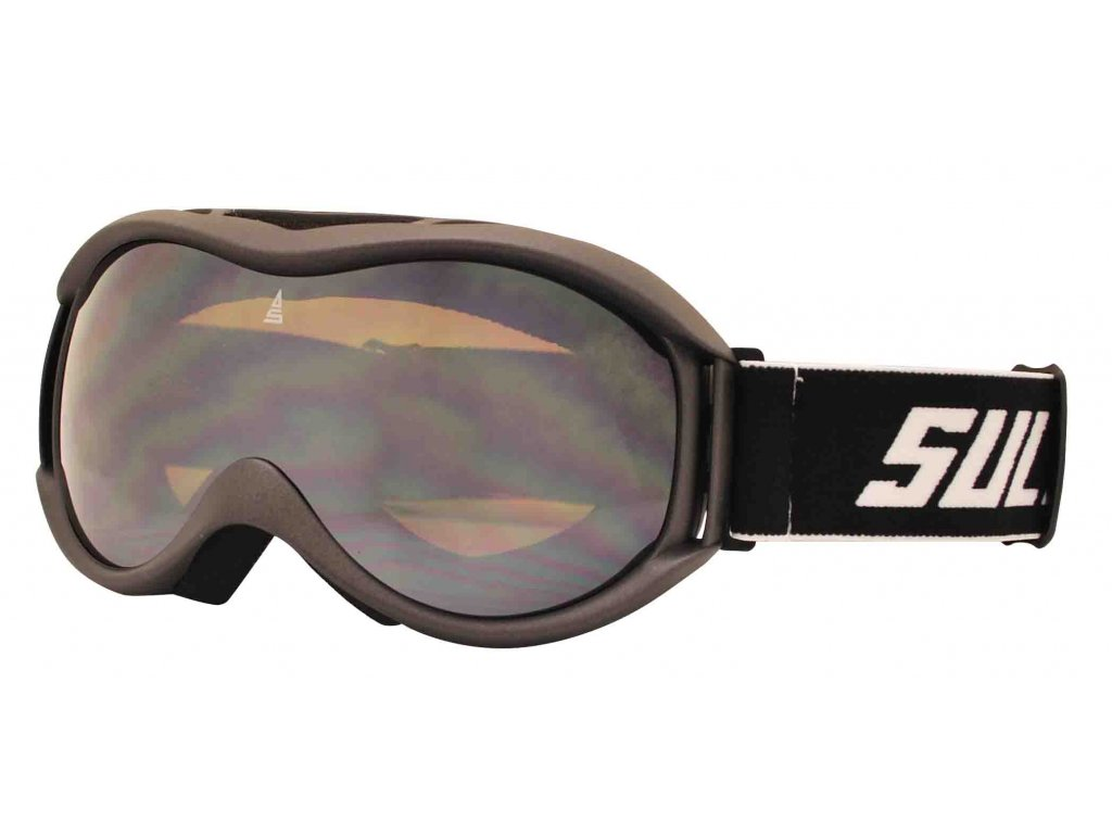Brýle sjezdové SULOV FREE, dvojsklo, carbon