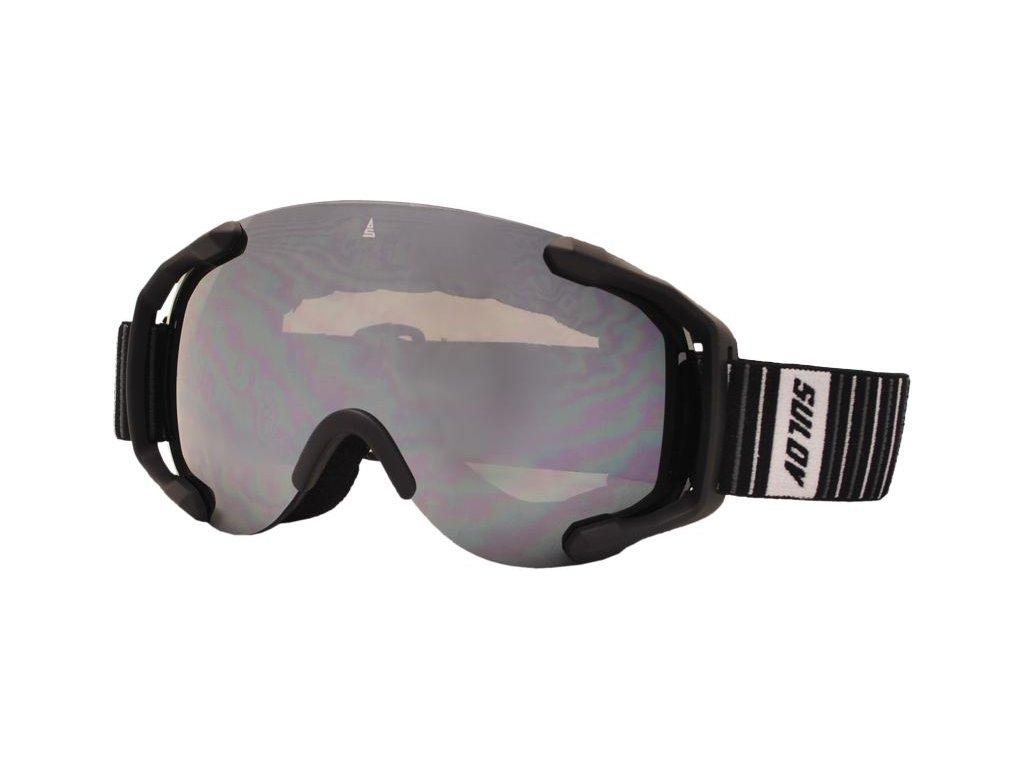 Brýle sjezdové SULOV PICO, dvojsklo, černé
