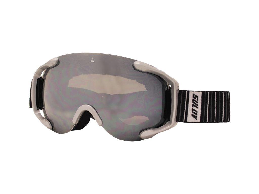 Brýle sjezdové SULOV PICO, dvojsklo, stříbrné