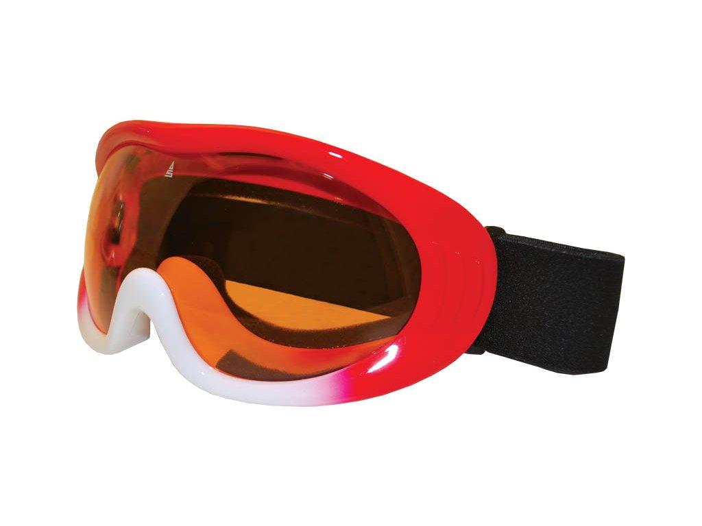 Brýle sjezdové SULOV VISION, červeno-bílé