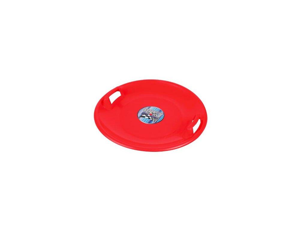 Sáňkovací talíř Superstar červené