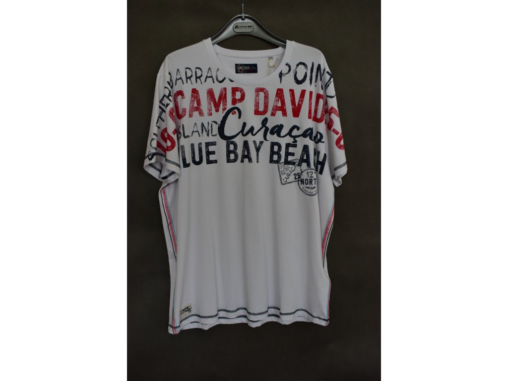 Tričko Camp David Scuba Diving Opticwhite