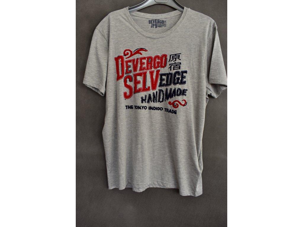 Tričko Devergo Selvedge